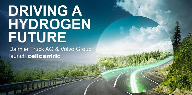"""Daimler Truck AG ve Volvo """"hidrojen""""de güç birliği yapacak"""