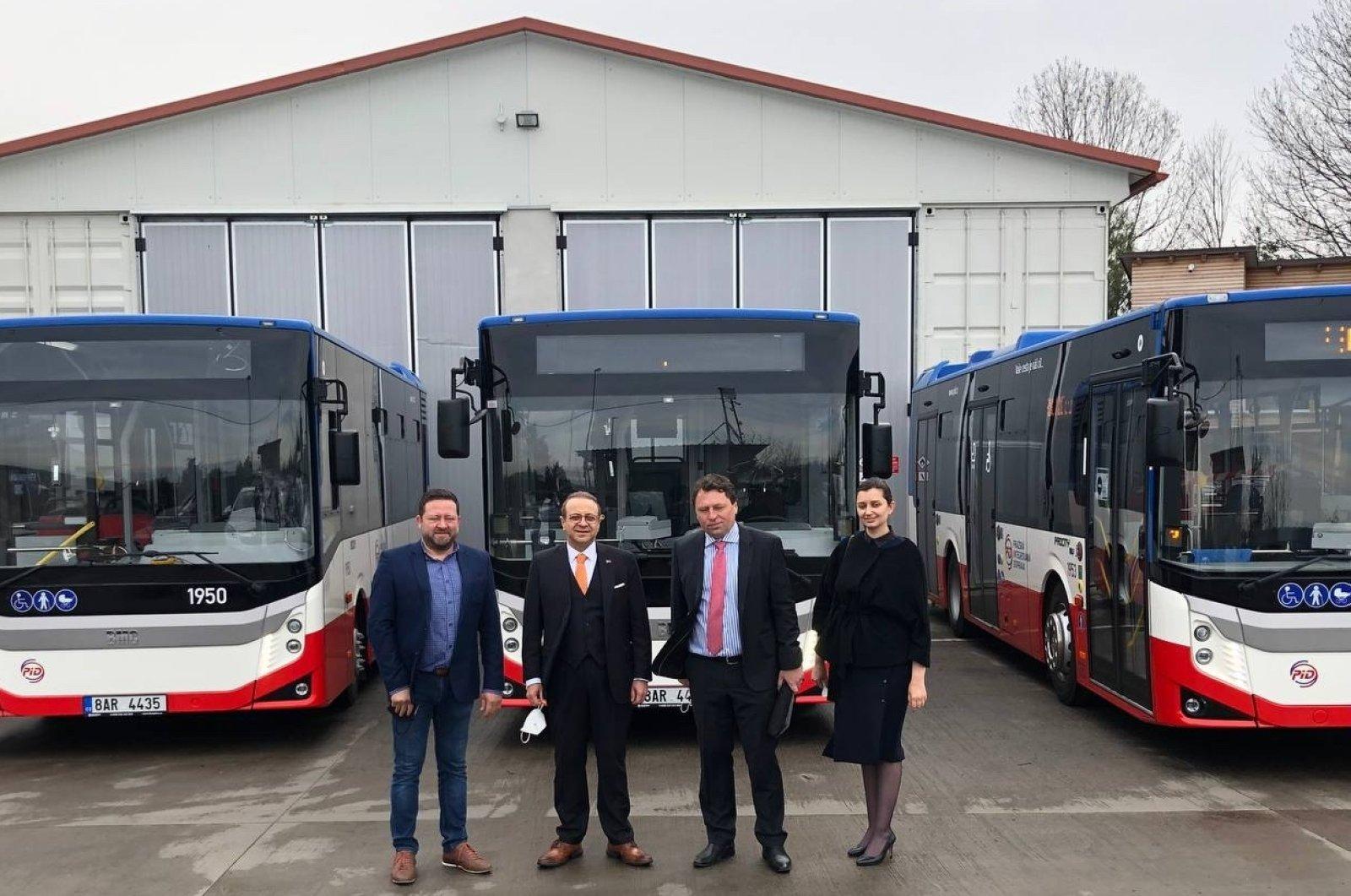 BMC otobüsleri Prag toplu taşıma filosuna katıldı