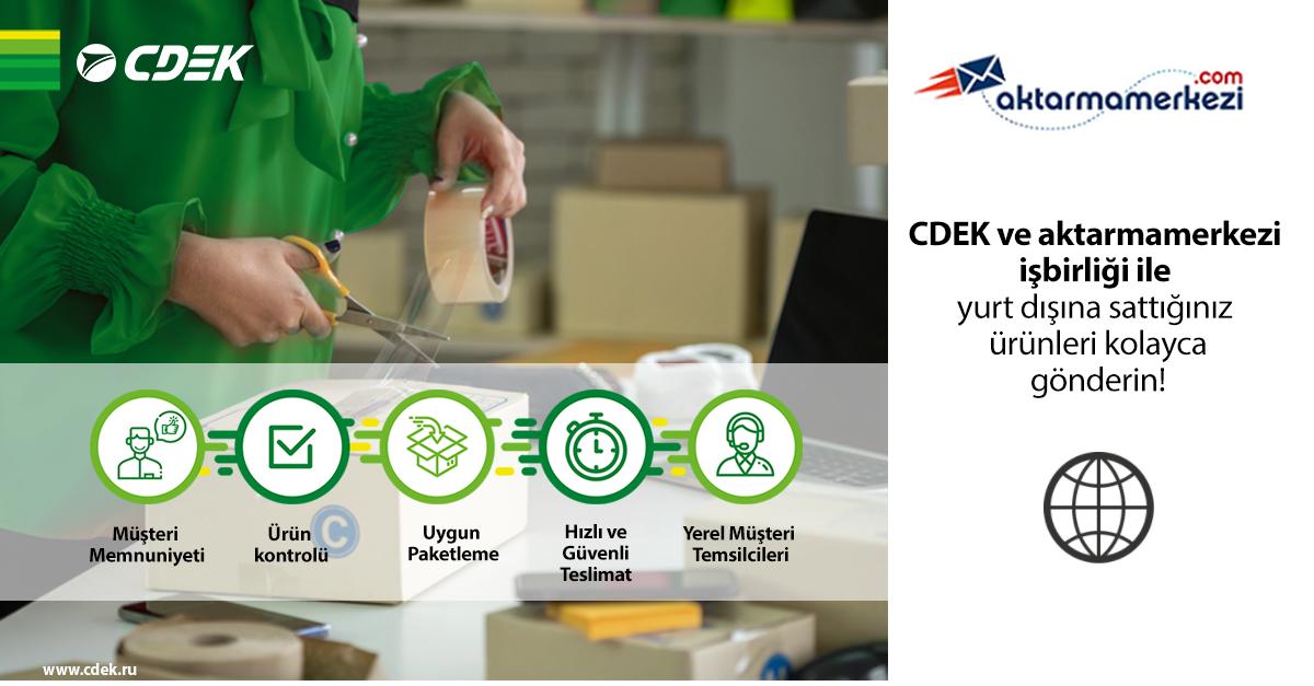 CDEK'ten aktarmamerkezi.com ile iş birliği