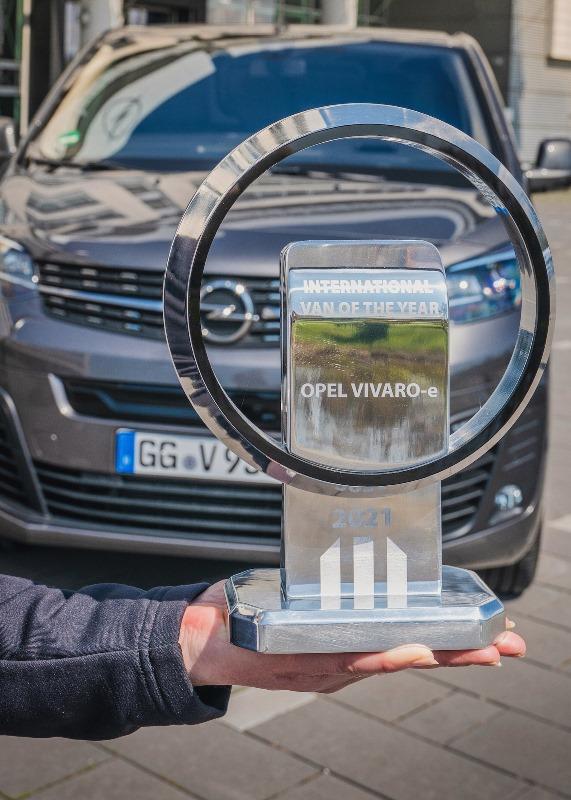 """Opel Vivaro-e """"2021 Uluslararası Yılın Vanı"""" seçildi"""