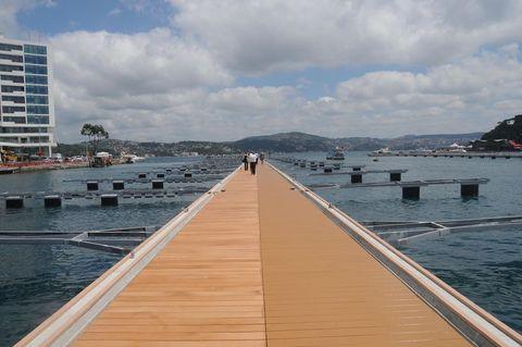 Tarabya tekne parkı Eylül'de açılıyor