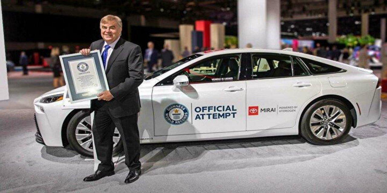Toyota rekora imza attı: Bir depoyla 1360 kilometre
