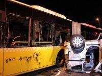 Metrobüsle kafa kafaya: 5 ölü, 5 yaralı