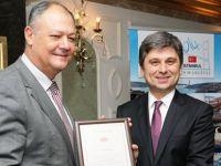 Kosta Sandalcı, FIATA Onur Üyesi oldu
