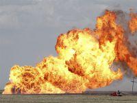 Yakıt yüklü gemide patlama oldu