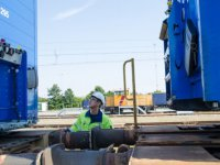 DSV Türkiye'den demiryoluna her yıl 5 milyon $