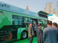 Çinliler, hidrojenle çalışan otobüs yaptı