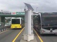 Metrobüs rüzgarından 20 bin eve elektrik üretilecek!