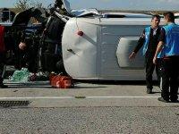 Atatürk Havalimanı'nda kaza! 9 kişi yaralandı