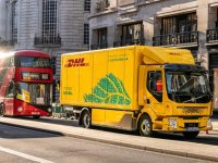 DHL begins operating UK's first electric 16-tonne truck