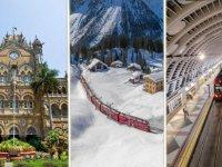 İşte dünyanın en görkemli tren istasyonları