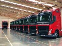 Volvo Trucks'tan Nalçacılar Nakliyat'a 15 Volvo FH500