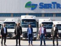 Renault Trucks, ilk büyük teslimatı Sertrans'a yaptı