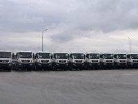İŞKAYA İnşaat filosu 35 MAN kamyon ile artık daha güçlü