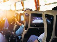 Otobüste yan koltuk ve aile tarifesi yolda