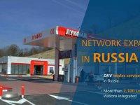 Rusya'daki 2.100 yakıt istasyonu daha DKV kapsama alanına girdi