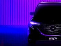 Mercedes'in küçük hafif ticarisi Concept EQT geliyor