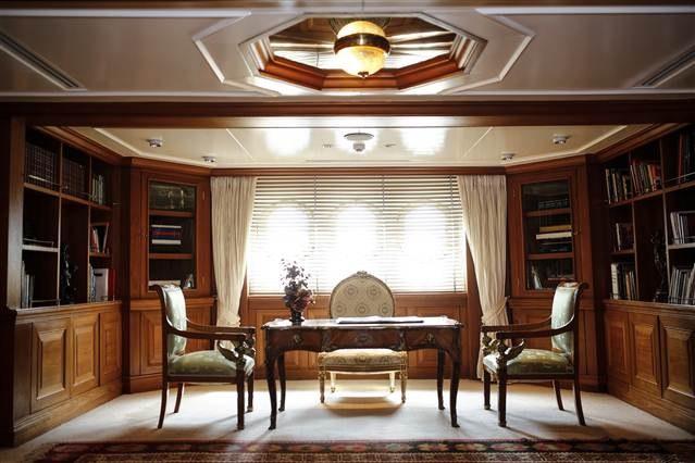 Atatürk'ün yatı 'Savarona' kullanıma hazır