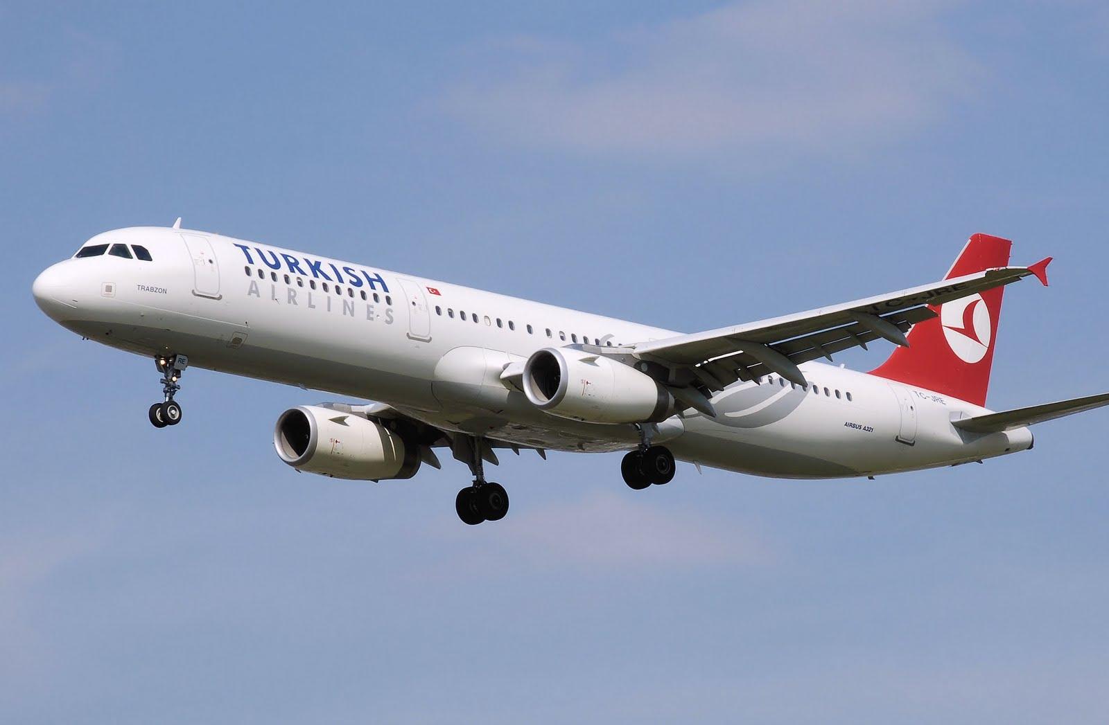 Dünya'nın en çok ülkesine uçan havayolu şirketi türk hava