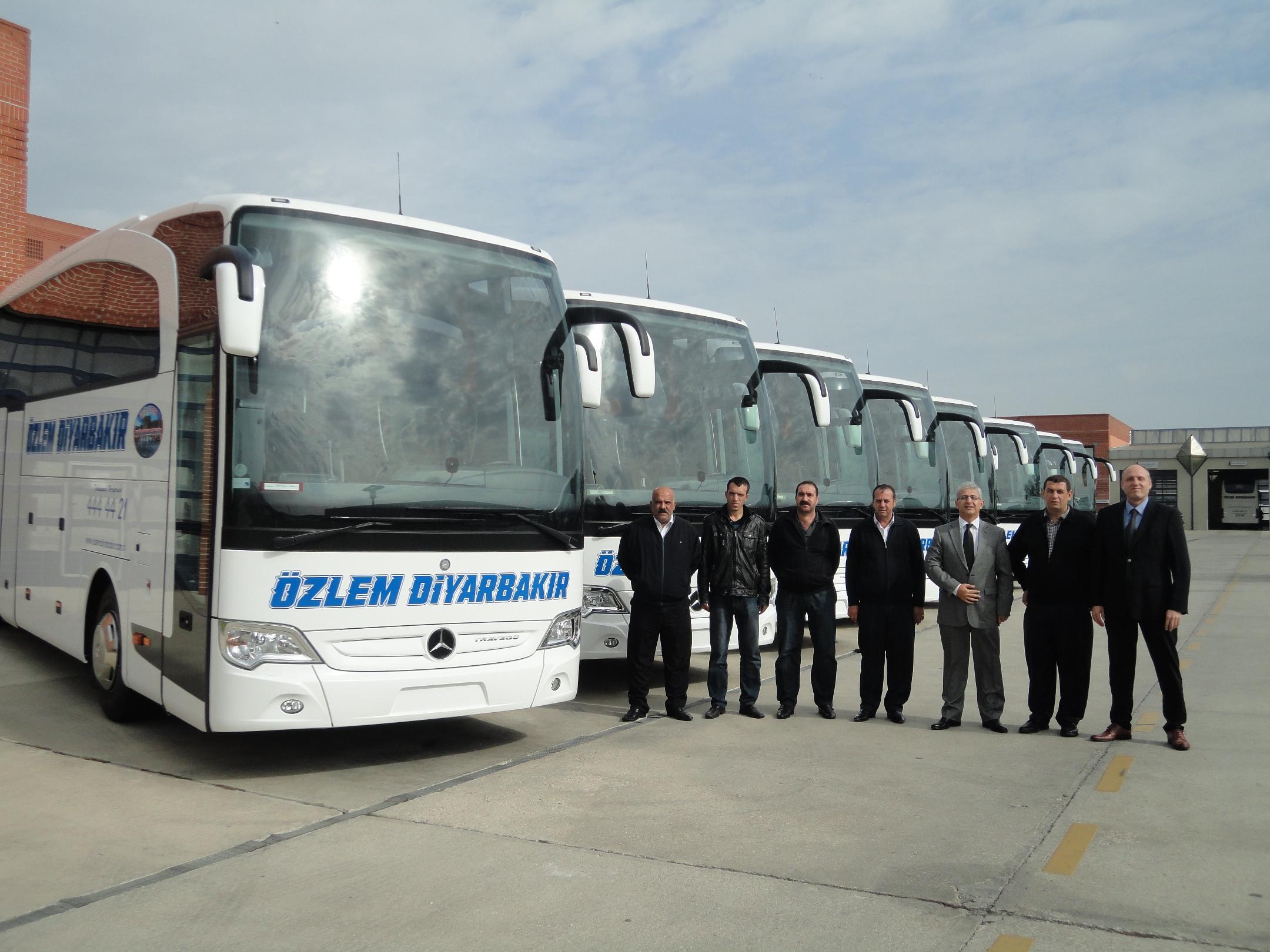 Özlem Diyarbakır filosuna 10 Travego daha