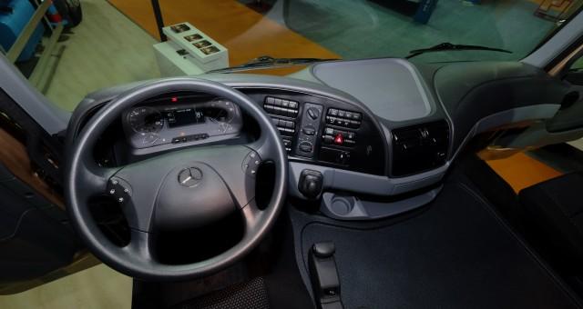 Mercedes-Benz Türk Beton Fuarı 2015 Actros 3236 İç Kabin