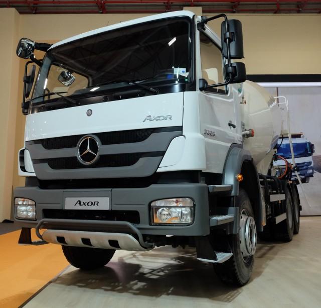 Mercedes-Benz Türk Beton Fuarı 2015 Axor 3029