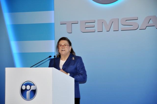 Temsa-Safir-VIP-otobüs lansmani Güler Sabancı